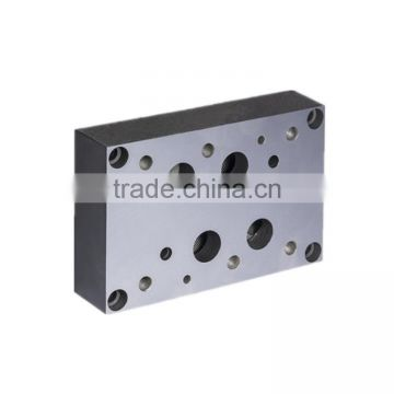 NG16 Cetop7 hydraulic parallel circuit manifold