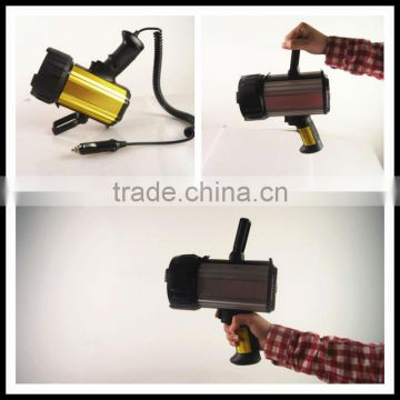 Super Bright Searchlight! Factory Suppy! CE & RoHS certificated! Cree LED Rechargeable Spotlight