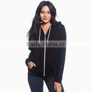 Custom Full Zip Women's Fleece Hood