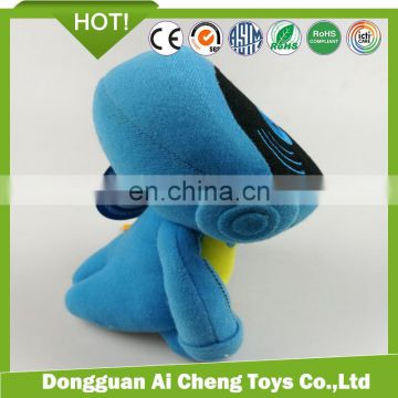 high quality custom company robot mascot plush cartoon toy