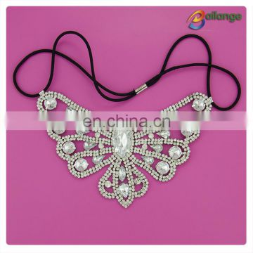 Bailange 2015 Newest Popular rhinestone headband Wide Rhinestone Headband