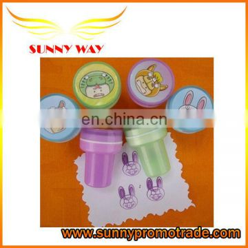 promotional animal logo plastic stamp