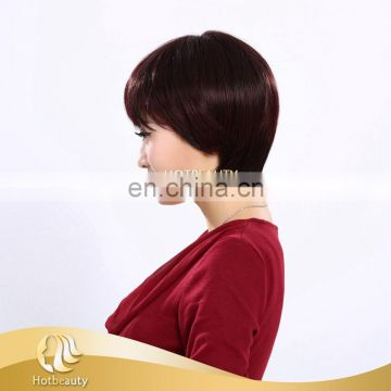 wholesale cheap 8 inch 100g fashionable synthetic hair wig for women