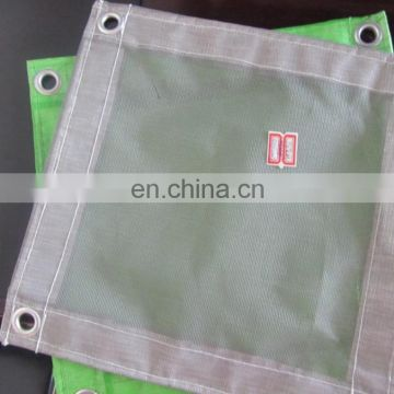 PVC Fireproof Mesh Sheet for Scaffolding Protection