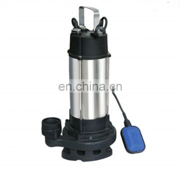 single phase submersible 1hp water pump with float switch for home use