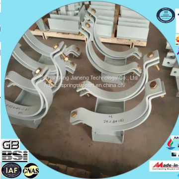 rigid steel pipe hangers and supports