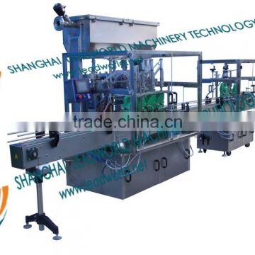 automatic single line vegetable oil filler and capper