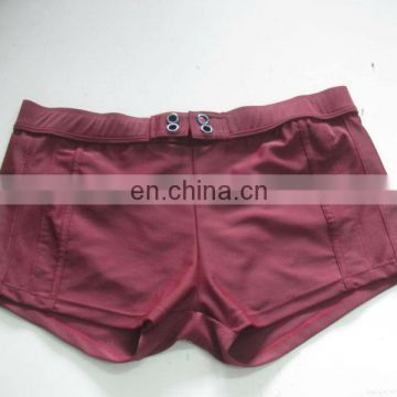 Men's Flat foot eyelets swimming trunks