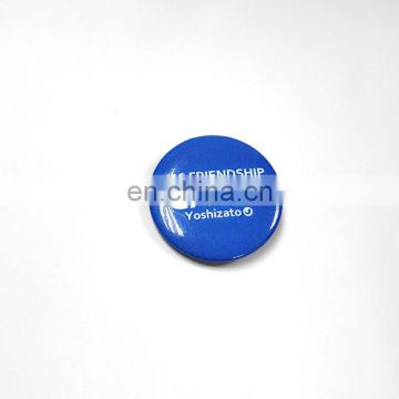 customized round metal badge with logo promotiomal gift