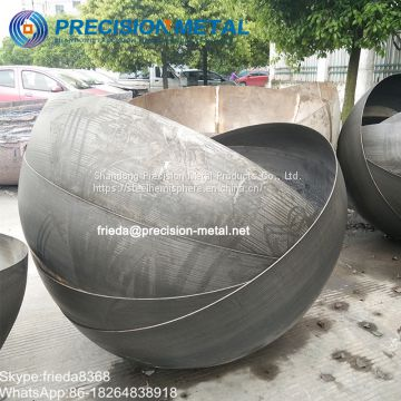 Smooth Surface Iron Hollow Balls metal half spheres