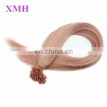 Hot Sale!Top Quality I/U/V/Flat Tip Hair Extension,Wholesale 100% Unprocessed Brazilian