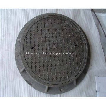 Anti-Theft D400 SMC Composite Manhole Cover With Hinge and Lock with good quality