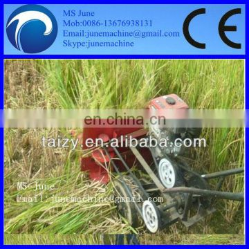 wheat rice harvester