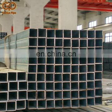 50*50mm pre galvanized Q195 Q235 steel pipe for greenhouse frame