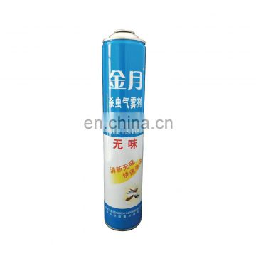 Hebei refillable aerosol cans empty cans and custom different sizes empty metal aerosol can for pesticide empty 750ml