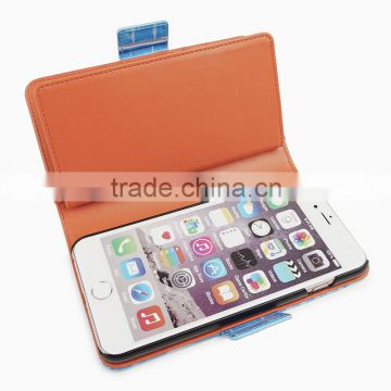 Minandio 2016 Guangzhou Leather Cheap Mobile Phone Case For iPhone 6, Phone Cover For iPhone6 Case, For iPhone Case 6