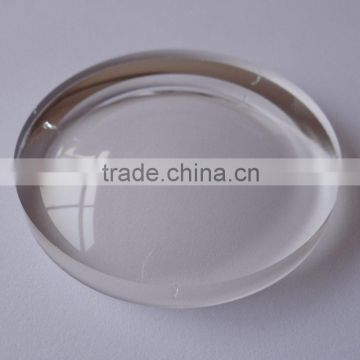 different index optical plastic resin lens for eyeglasses