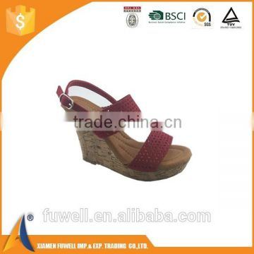 Fashion women PU upper and TPR sole high heels sandal ladis sandal shoe                                                                                                         Supplier's Choice
