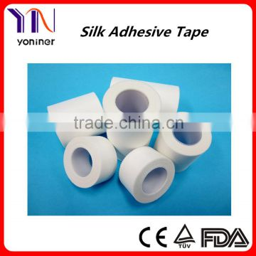 CE FDA ISO medical adhesive tape Surgical dressing tape Silk Tape