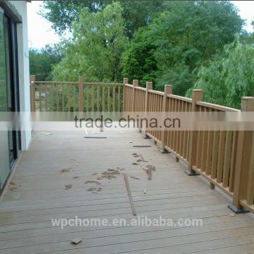 Long-life and weather resistance WPC decking