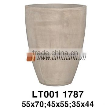 East Asia Classic Chocolate Terracotta Planter For Manufacturer