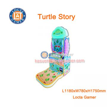 Zhongshan amusement equipment whack-a-mole Turtle Story coin operated hitting