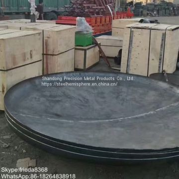 ASME Code Semi-Elliptical Dished Ends Cap Clad SS material Torispherical Dished Heads