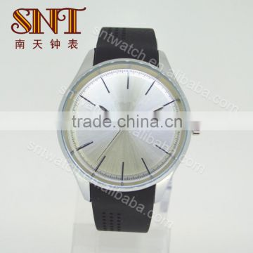 Simple silicone watch big dial watch for teenagers