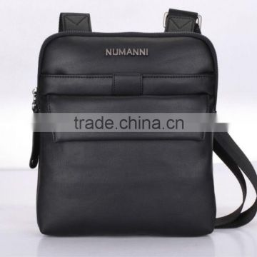2014 classic famous fashion style black PU wholesales genuine leather satchel handbag for business men