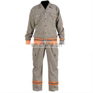 cotton reflective work coverall unifoem in workwear