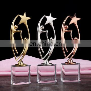 heart and star dance trophy and awards