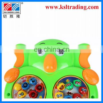 B/O music children kids plastic children fishing rods toys
