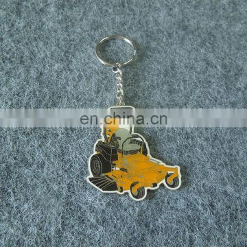 custom a car shaped metal keychain for sales