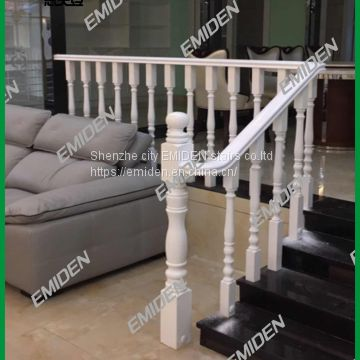 Italy Madden supplies private clubhouse / hotel clubhouse / villa / apartment solid wooden staircase armrest