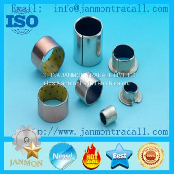 SF-1 bush,SF-1 bushing,Flanged bush,DU/DX bushings,DU Oilless Bushings,DU/DX teflon bronze harden steel bushings,Sleeve Du Bushings For Auto Parts ,Carbon Steel+Bronze Powder+PTFE Teflon+Polymer Bush,Self-lubricated PAP PAF P10 P20 SF1 SF-1 DU Sleeve Bush