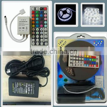 wholesale alibaba approved Waterproof IP65 60leds/meter SMD5050 Flexible RGB led strip/led cabinet light