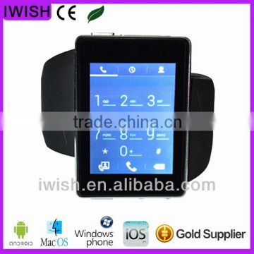 2014 new android 4.0 latest wrist watch mobile phone gps watch