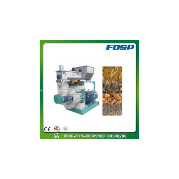 High performance biomass pellet mill