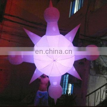 NB-ST376 Beautiful Shiny inflatable star for event decoration