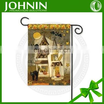 good feedback custom logo decorative outdoor garden flags wholesale