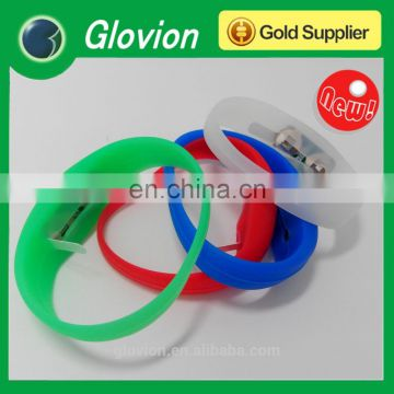 Glovion New design silicone led light bracelet for party