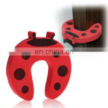 Cartoon Child Safety Gate Card / EVA Door Stopper(Red)