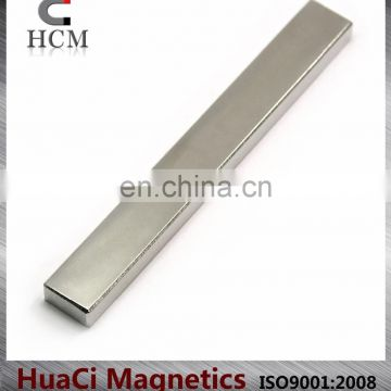 Bar Shape N45 Neodymium Magnet Direct supply from Chinese Factory