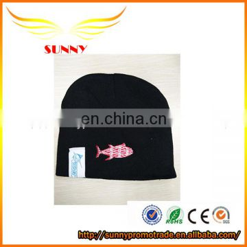 2018 New style white cashmere cap knitted hat with big pompom