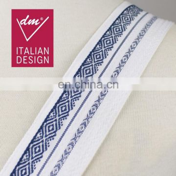 Hot sale fashion design jacquard ethnic ribbon trim for clothes