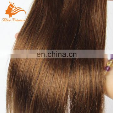 Light Color Blossom Bundles Virgin Hair Weaving From Fengye Silky Straight 100% Real Girl Pussy Hair