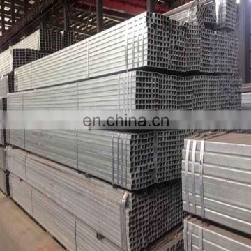 hot dipped Galvanized ERW Welded Rectangular / Square Steel Pipes/Hollow Section