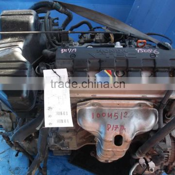 HIGH QUALITY JAPANESE USED ENGINE D17A(HIGH QUALITY ) FOR HONDA STREAM, CIVIC, EDIX.(EXPORT FROM JAPAN)