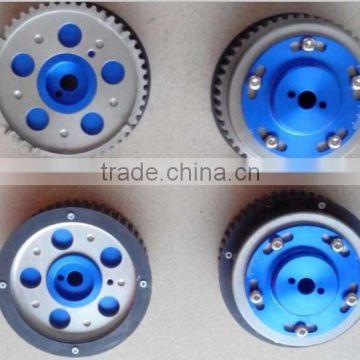 FOR Engine Aluminum Adjustable Bolt-on Cam Gear/Slide cam pulley For SUBR**  WRX STI EJ20