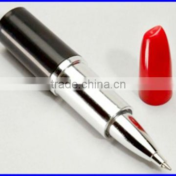 gift lip rouge ball point pen